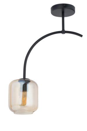 Plafon ze szklanym kloszem
